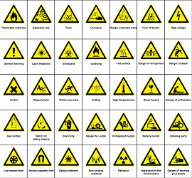 bizsafe 2 risk sign