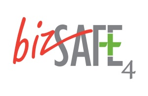 bizSAFE 4 logo for bizSAFE 4 training page